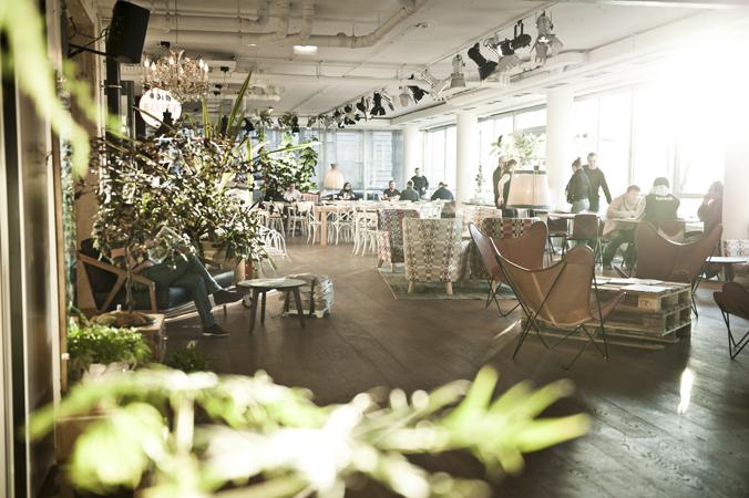 Hotel Daniel Vienna, Lobby de la panadería.