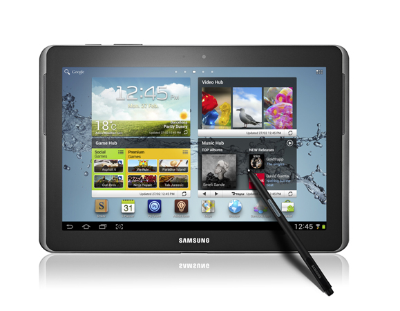 Samsung Galaxy Note 10.1	Eyewriter