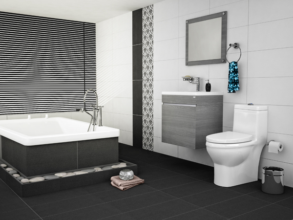 Muebles Para Baño Corona:Sanitario Niza Mueble de baño de colgar Noctis Espejo Loira con