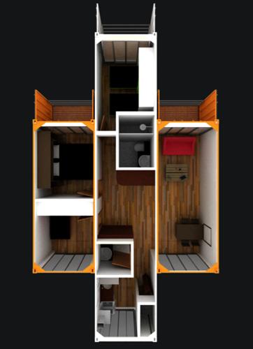Las unidades tienen áreas que oscilan entre 44 y 73 metros cuadrados, en los cuales se distribuyen sala comedor, cocina abierta, zona de ropas, de 2 a 4 alcobas, balcón y terrazas. Con opción de ampliación.