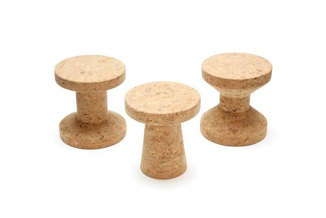 Mesas corcho para Vitra.