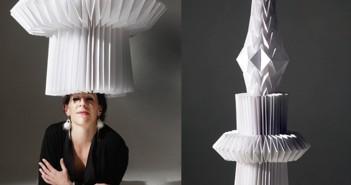 Diana Gamboa y sus maravillosas esculturas de origami.