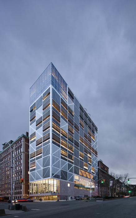 Edifico de ciencias y tecnología de la Universidad de Columbia.