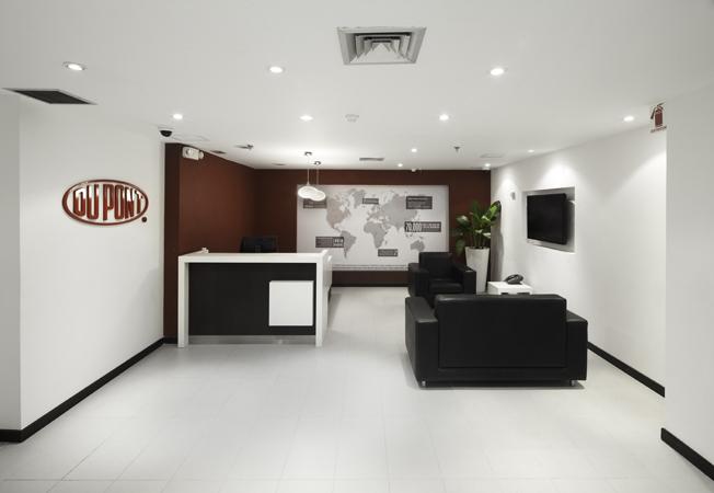 Dupont Colombia .Diseño y construcción: Solinoff Espacios Integrales.