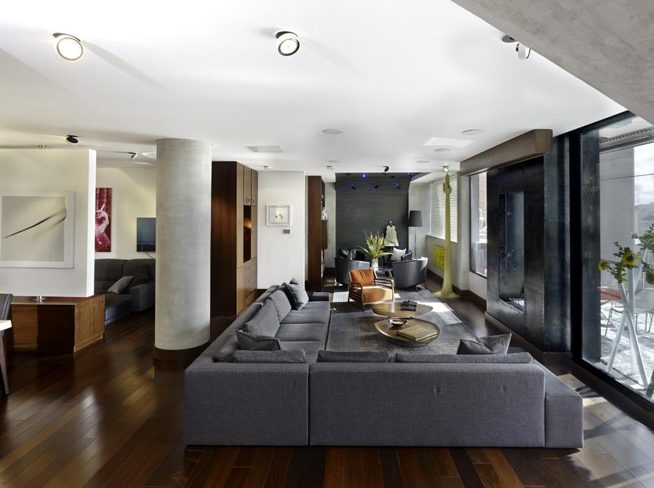 Una vivienda moderna for Decoracion de apartamentos 2015