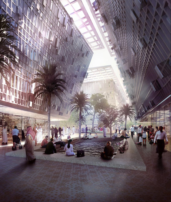 Masdar City. ©foster+Partners.