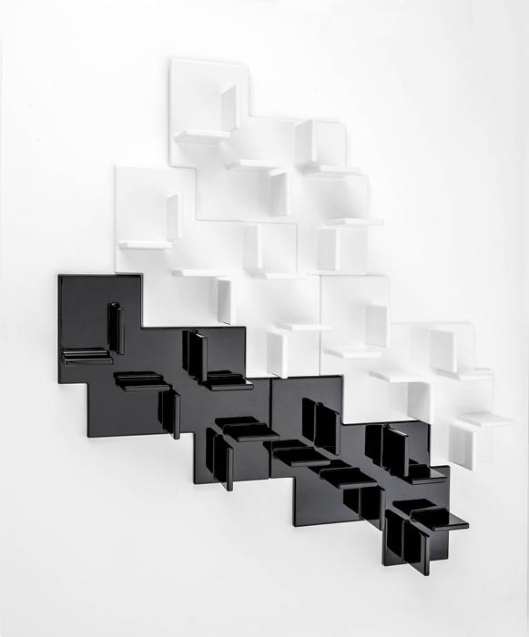 Librería modular de Nendo para Kartell.