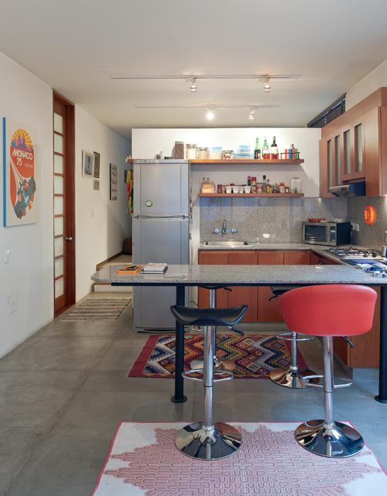 Un apartamento de 76 metros cuadrados.