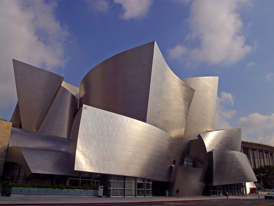 Walt Disney Concert Hall. Los Ángeles, California.
