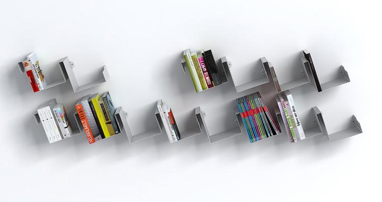 Bibloteca recto verso diseño de Linadura.