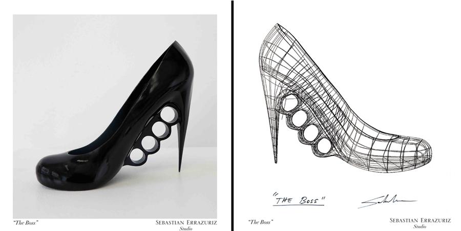 The Boss, diseño del proyecto 12 zapatos para 12 amantes, para Melissa.
