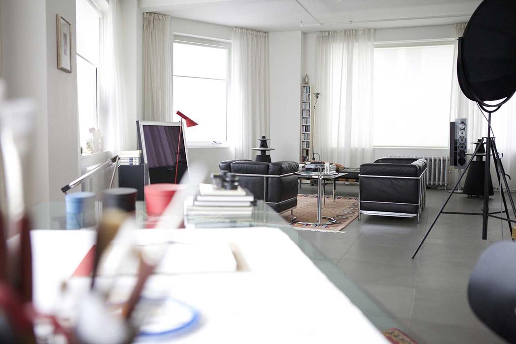 """Casa del arquitecto Daniel Libeskind en la exhibición """"Where architects live"""
