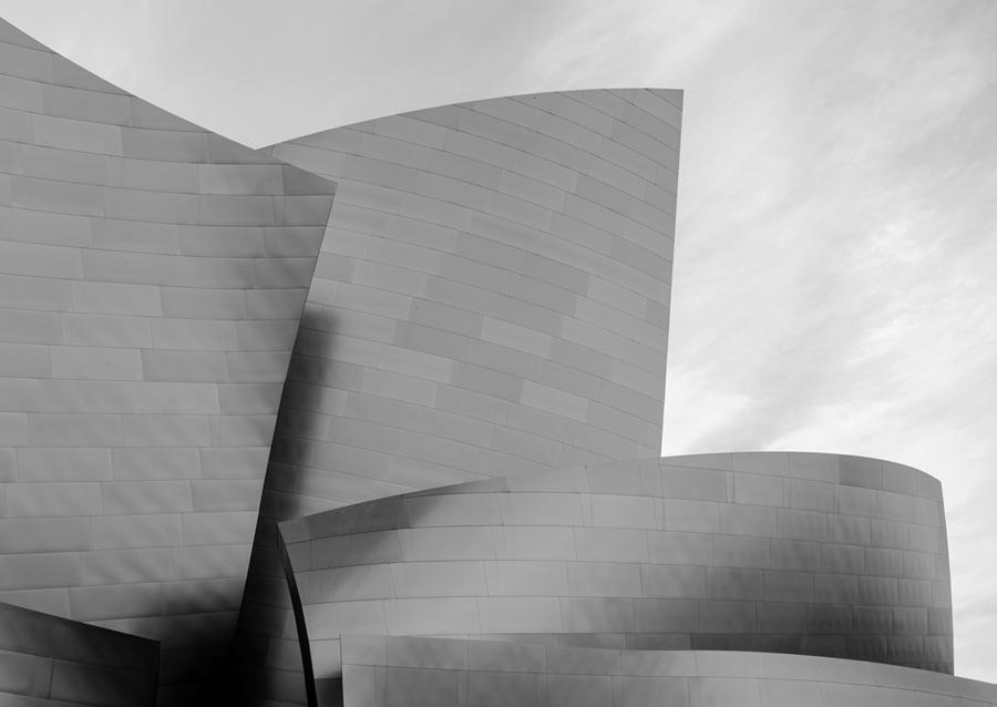 Detalle de Walt Disney Concert Hall. Los Ángeles, California.