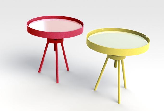 Las mesas Torque de Carlos Alcantarino.