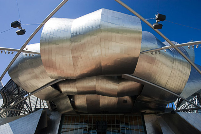 Pritzker Pavilion, Chicago, Illinois.