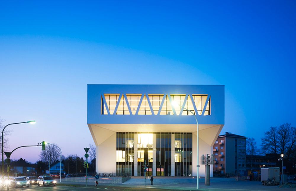 La escuela pública de música proyectada por Wulf Architecten, representa un interesante ejemplo de sostenibilidad.