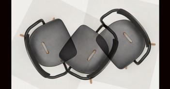 Por primera vez en 66 años, Tolix, firma fundada en los años 30 por el artesano francés Xavier Pauchard, planteó la remodelación de uno de sus inventos estrella, la silla T14.