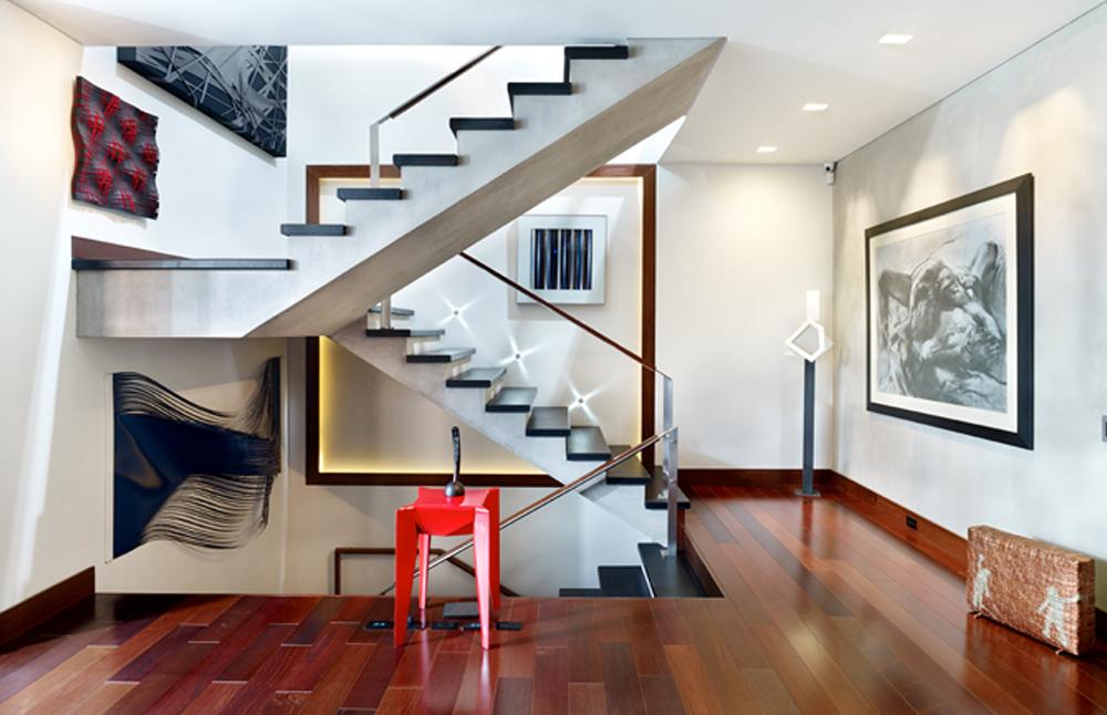 El proyecto fue ambicioso: comprar un edificio de tres pisos en el barrio El Nogal, de Bogotá, y convertirlo en dos amplias y modernas casas de 400 metros cuadrados.