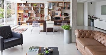 Su remodelación estuvo en manos de los propietarios, una joven pareja que contó con la asesoría profesional de los arquitectos María Mallarino, Rodrigo Arias y Miguel Escallón.