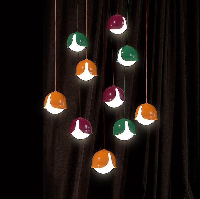 Lámparas colgantes Snowdrop de Innermost.