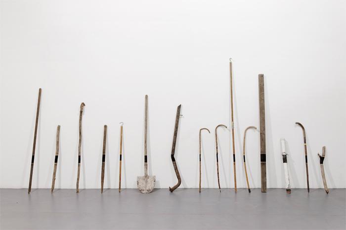 Black horizon, obra del artista Arturo Hernández, invitado a ARTBO 2014.