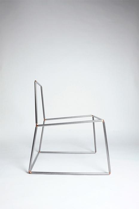 Silla por la firma de diseño Perron, en la Dutch design week 2014.