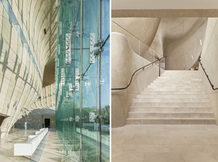 Museum of the History of Polish Jews, por la firma Architects Lahdelma & Mahlamäki.