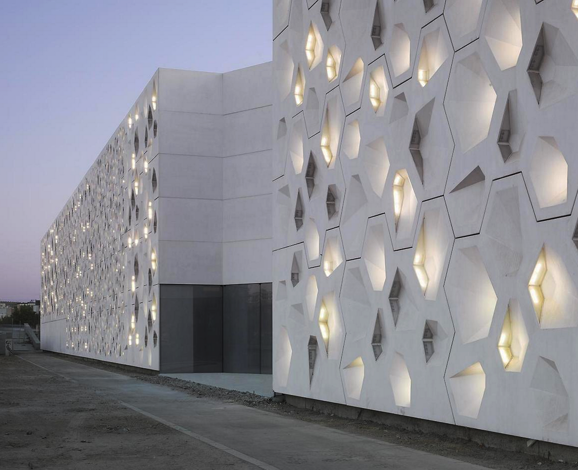 Centro de arte contemporáneo, por la firma Nieto Sobejano Arquitectos.