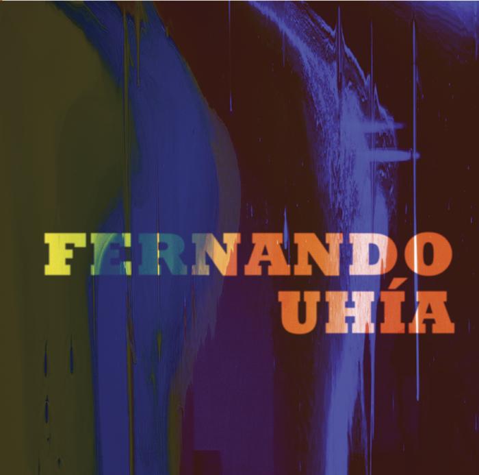 Portada monografía sobre el artista colombiano Fernando Uhía, del proyecto Nueveochenta en la red, 2015.