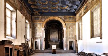 Fotografía de interiores por Massimo Listri, Capilla de la visitación.