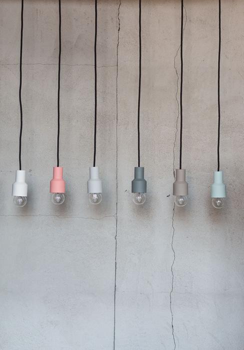 Lámpara por Kulør en en BlickFang 2015.