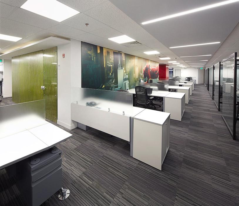 Las oficinas de Lenovo por el arquitecto  Ricardo Grisales Aristizábal.