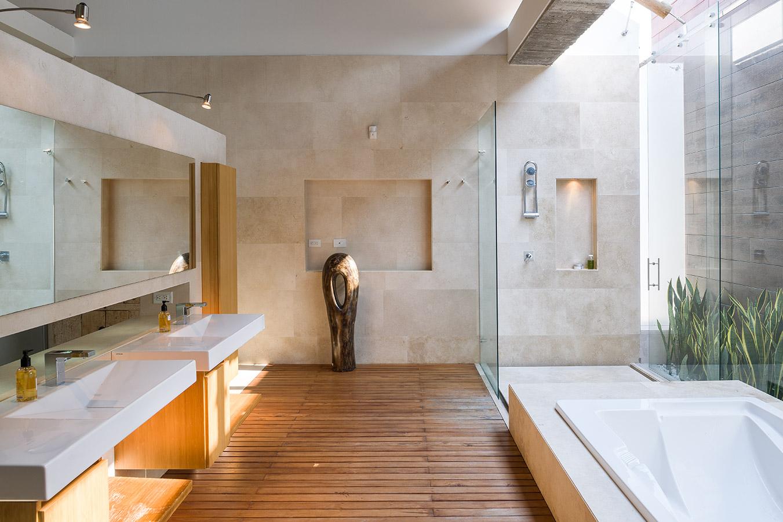 Concreto madera y paisaje - Casas de madera y cemento ...