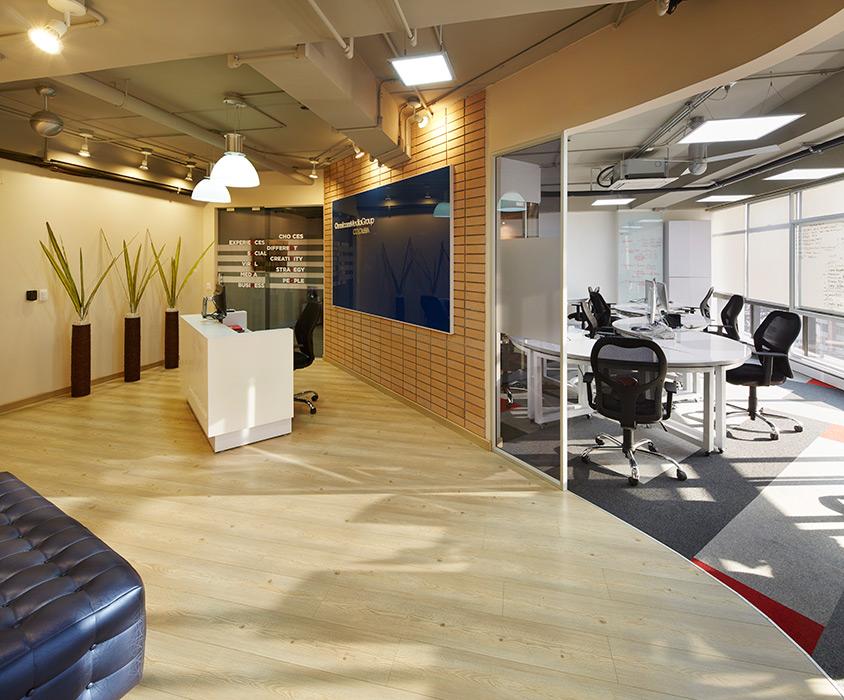 arquitectura visual oficinas de espacios colaborativos