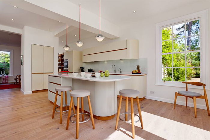 Cocina por Tomas Kitchen Living, en el en el Grand Designs London 2015.