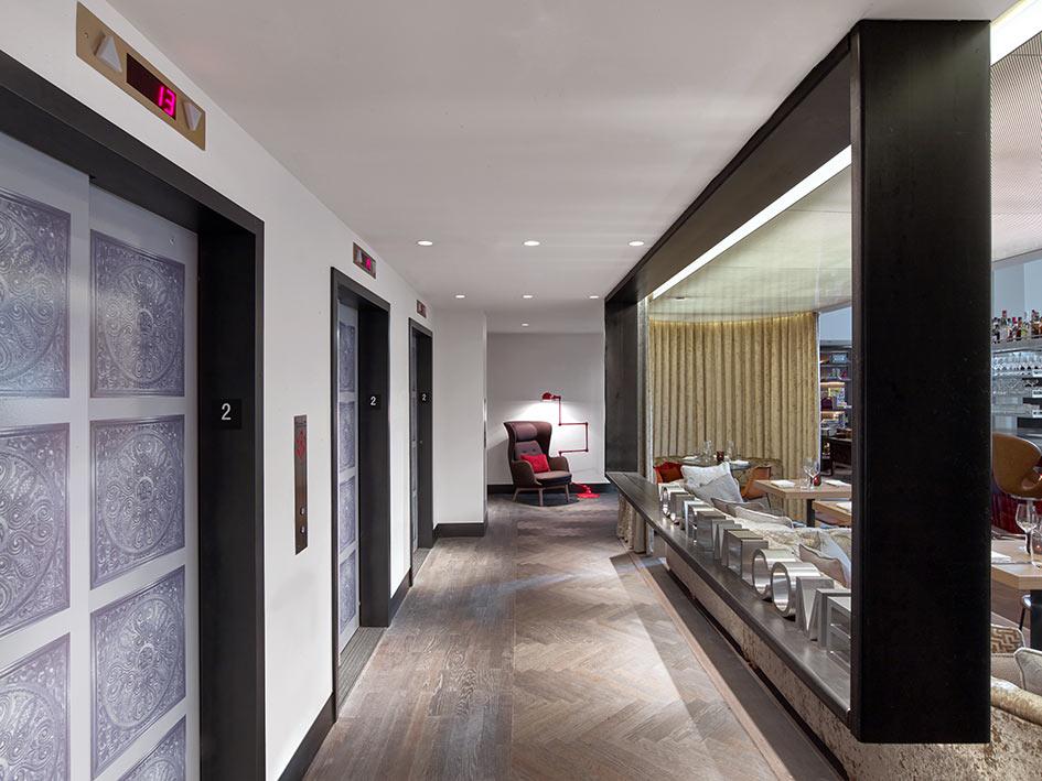 Virgin hotel en la cuidad de Chicago, un diseño de Diego Gronda para Rockwell Group.
