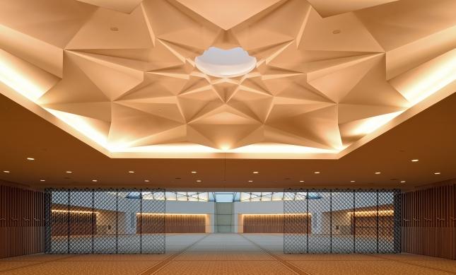 El Islaimi Centre de Toronto, uno de los últimos proyectos de Charles Correa.