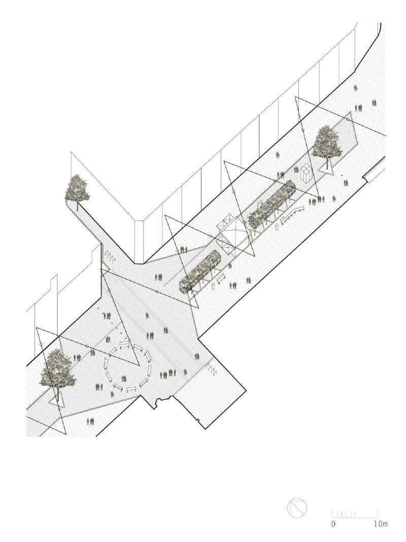 High Street Harrow, en Harrow, Un espacio público replanteado en un centro de la ciudad del norte de Londres, 2014.
