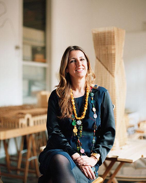 La arquitecta italiana, Benedetta Tagliabue hace parte del panel global del WAF.