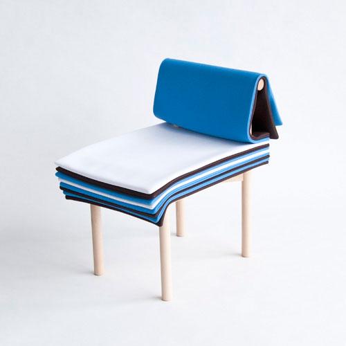 Silla Pages, una creación del estudio japonés 6474 Design.
