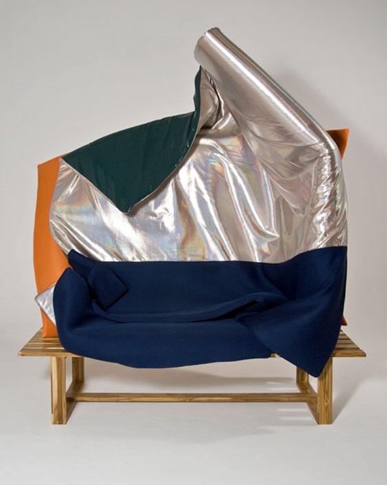 Wave Sofa 2010, del diseñador Rodrigo Almeida.