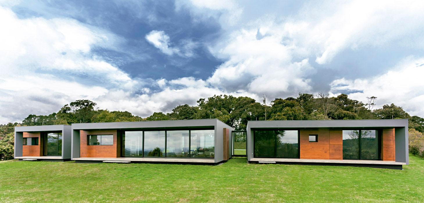 La casa de las tres cajas - Arquitectura y diseno de casas ...