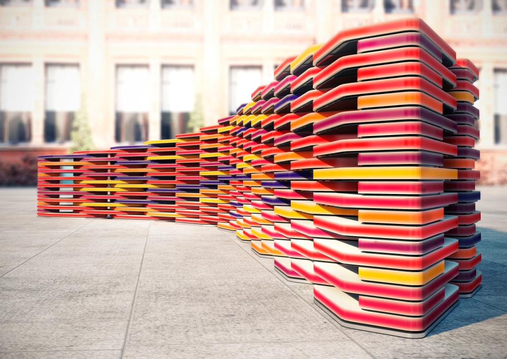 Benches LDF (Bancos) para El Festival de Diseño de Londres.