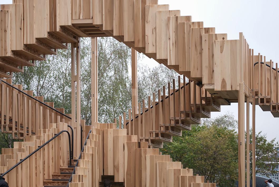 Instalación EndlessStairs para El Festival de Diseño de Londres 2013.