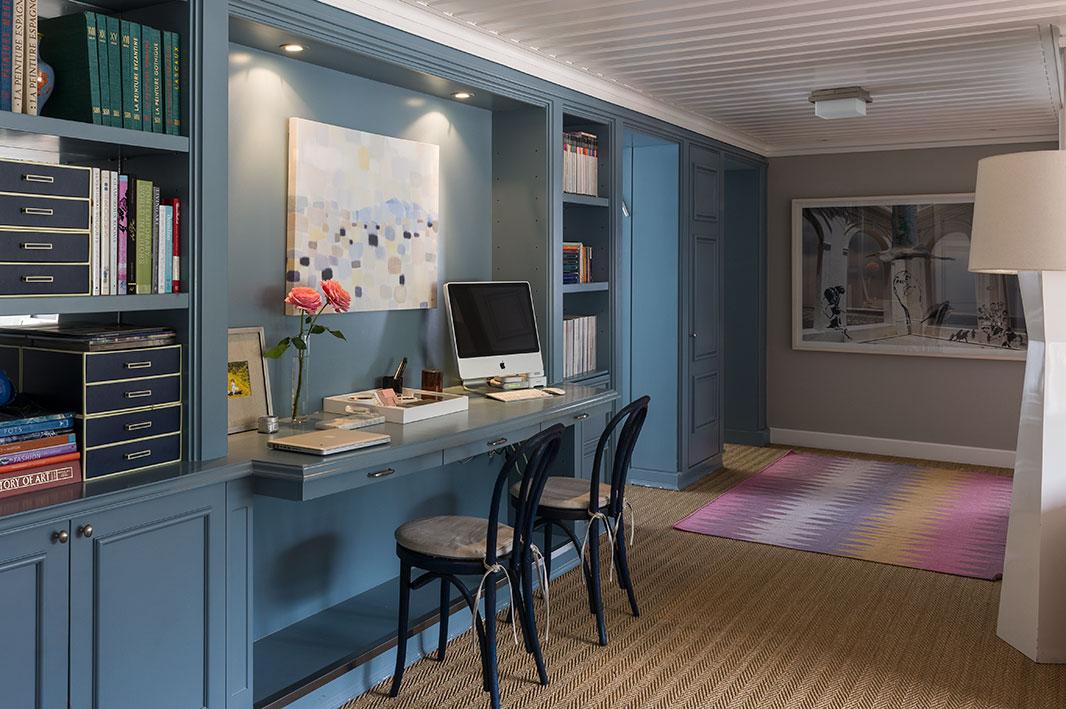 Decoraci n estilo playero en 247 m2 for Alfombras belgas originales