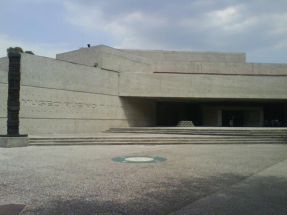 Museo Tamayo en México, una de las sedes de Design Week Mexico.