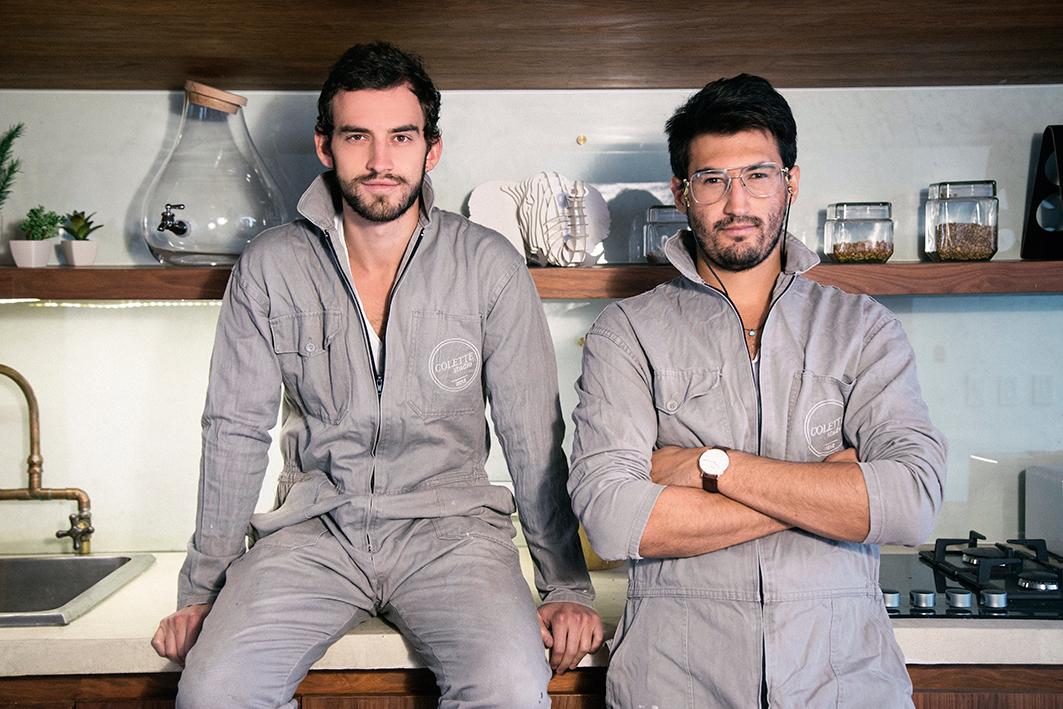 Ernesto y Daniel Lafaurie, directores y fundadores de Colette Studio.