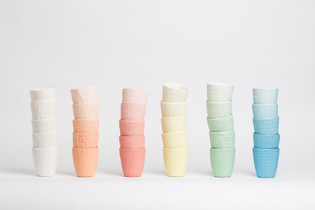 Colores suaves y sugestivos hacen parte de la serie Taped.