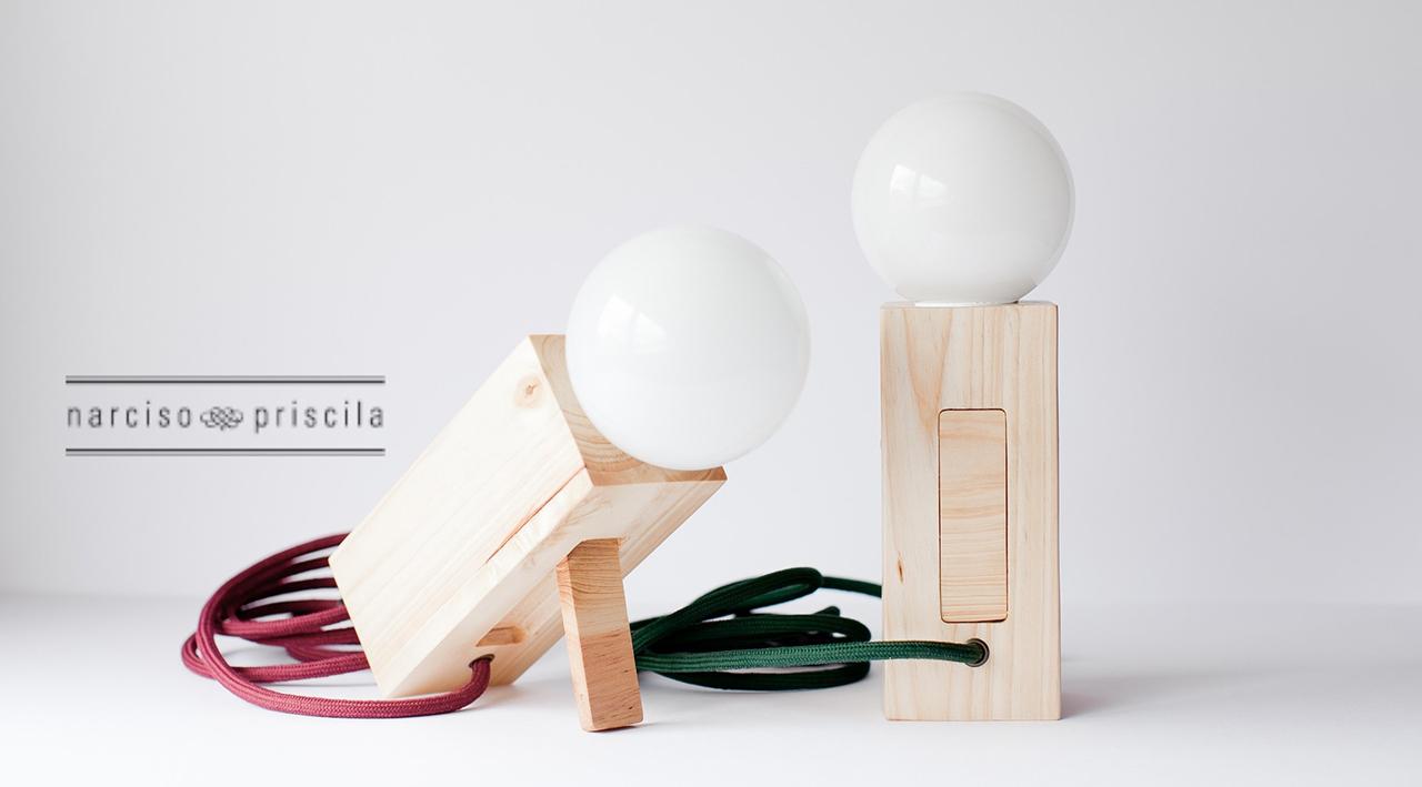 Lámparas de Narciso & Priscila.