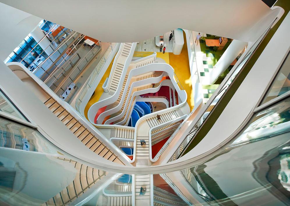 El interior de la empresa Medibank, premio Inside en la categoría de Oficinas